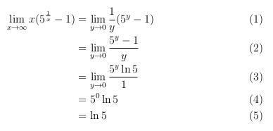 Soal Limit Tak Hingga Dari Fungsi Yang Memuat Eksponen